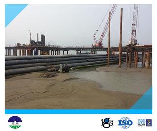 Circonferenza 13.6meters Geotube per ingegneria solida della diga